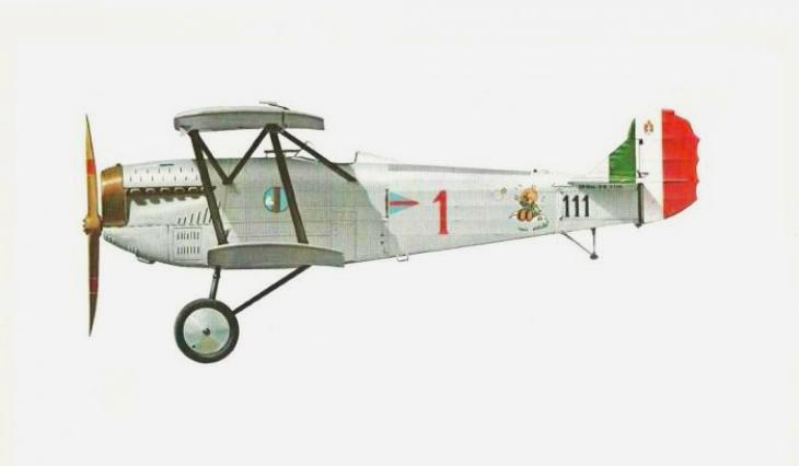 Fiat C.R.20 bis A.Q. - 111a squadriglia C.T. - Asmara - Novembre 1935
