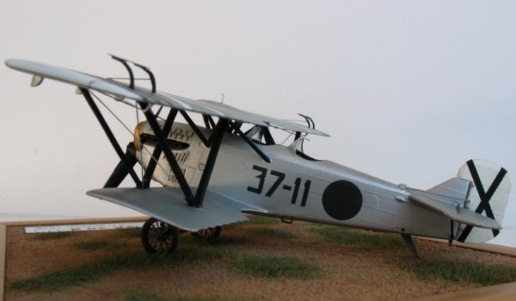Fiat C.R.20B - Conversione Choroszy Modelbud - 1:72 - Aviación Nacional - Jerez de la Frontera - 1938 - Realizzazione di Uwe Borchert
