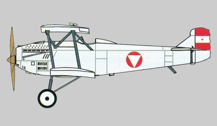 Fiat C.R.20 bis - Luftwaffen Kommando Österreich - Squadriglia Scuola Zeltweg