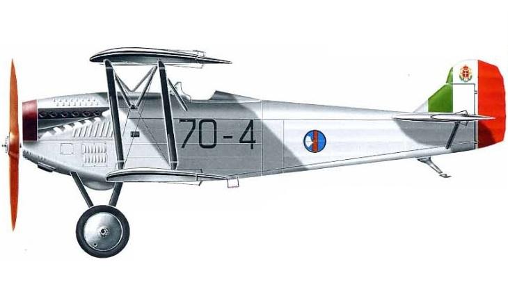 Fiat C.R.20 - 3° Stormo Caccia - 70^ Squadriglia - Brescia - 1931