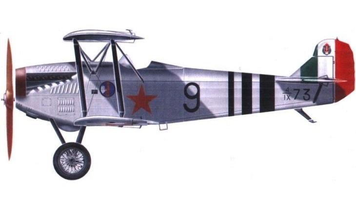 Fiat C.R.20 - URSS - Velivolo di valutazione per l'acquisto - 1928
