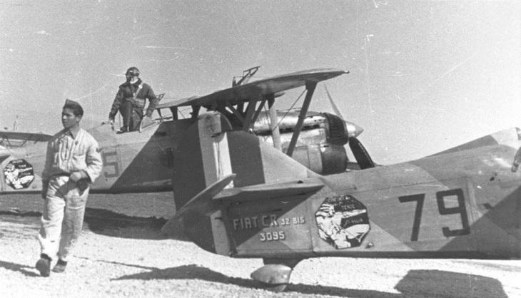 Fiat C.R.32 Bis - 1° Stormo