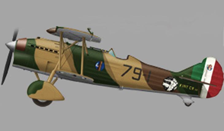 Fiat C.R.32 Bis - 1° Stormo Caccia Terrestre