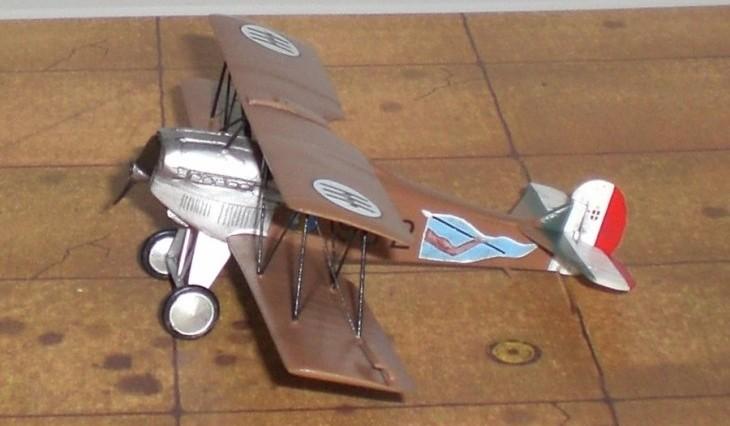 Fiat CR.1 - Conversione di un kit Fiat CR.20 1:72 della Choroszy Modelbud