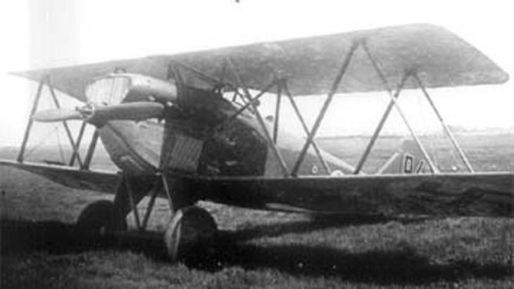 Il sesquiplano - Fiat C.R.1
