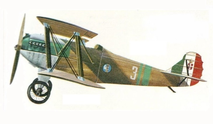 Profilo - Fiat C.R.1