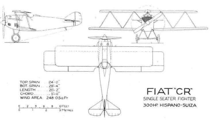 Profili Fiat C.R.1