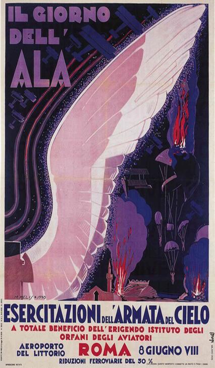 Locandina - Giorno dell'Ala - 8 giugno 1930