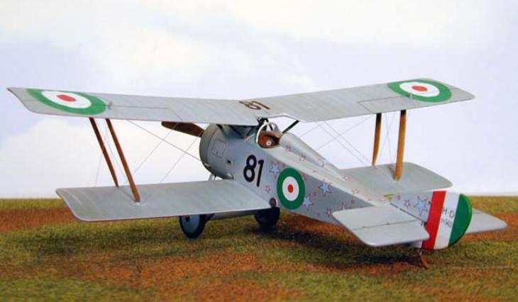 Macchi-Hanriot HD.1 - Eduard 1/48 - by Caz Dalton