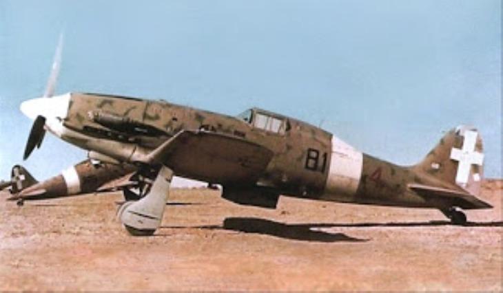 Macchi Mc.202 - 81^ Squadriglia - Biserta - 1943
