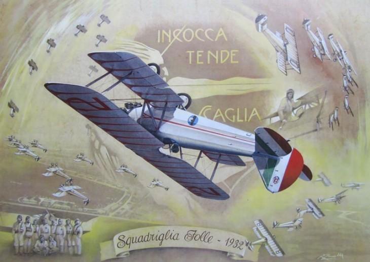 La Squadriglia Folle - Stampa 1932