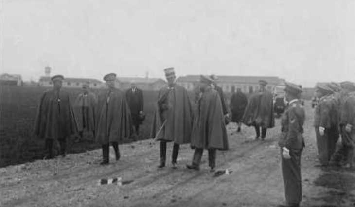 Visita a Campoformido del Principe Umberto e di Italo Balbo - 22 aprile 1929