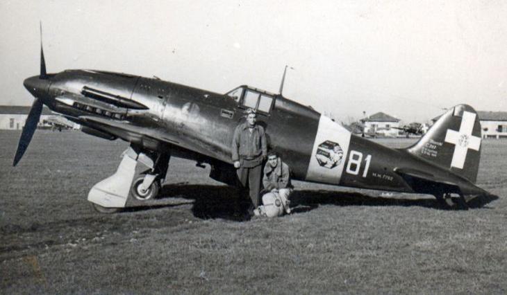 Macchi Mc.202 - Tenete Antonio Pegorari - 81^ Squadriglia - Osoppo - 1943