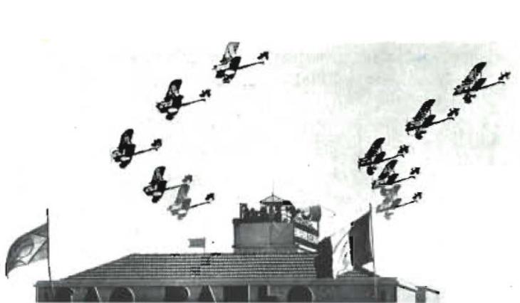 Sao Paulo do Brasil - Pattuglia Mirafiori -  Ottobre 1937