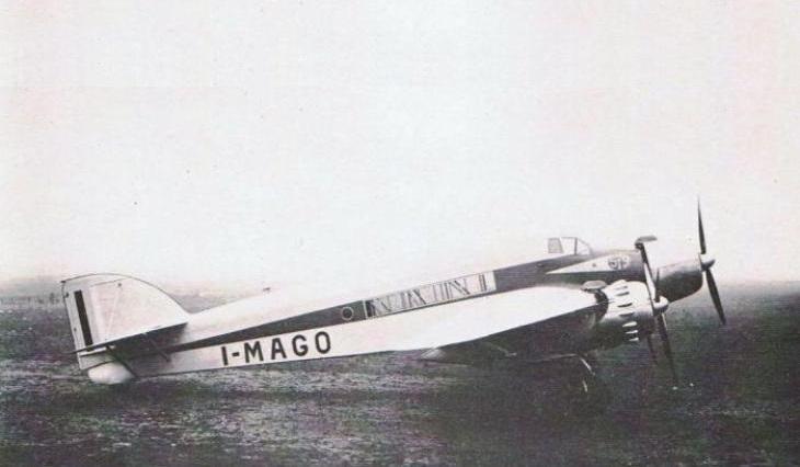 Savoia Marchetti S.79P - Prototipo - I-MAGO - Motori Piaggio Stella II R.C.2.