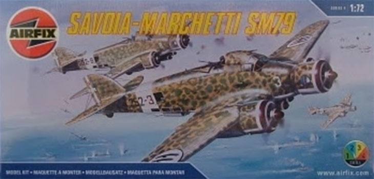 Kit Airfix – N. 04007 – 1/72 – Savoia-Marchetti SM.79