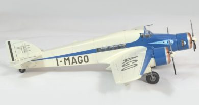 Profilo sinistro del Savoia-Marchetti S.79 P.III