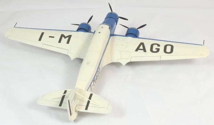 Vista superiore del Savoia-Marchetti S.79 P.III