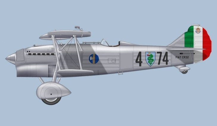 Fiat C.R.32 - 3° Stormo Caccia