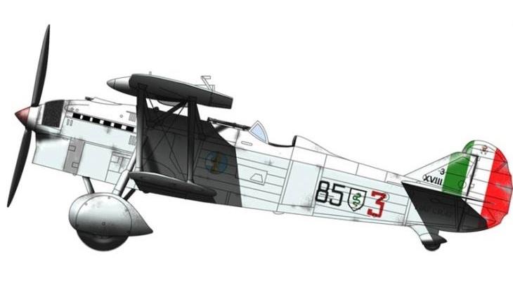 Fiat C.R. 32 - 3° Stormo Caccia