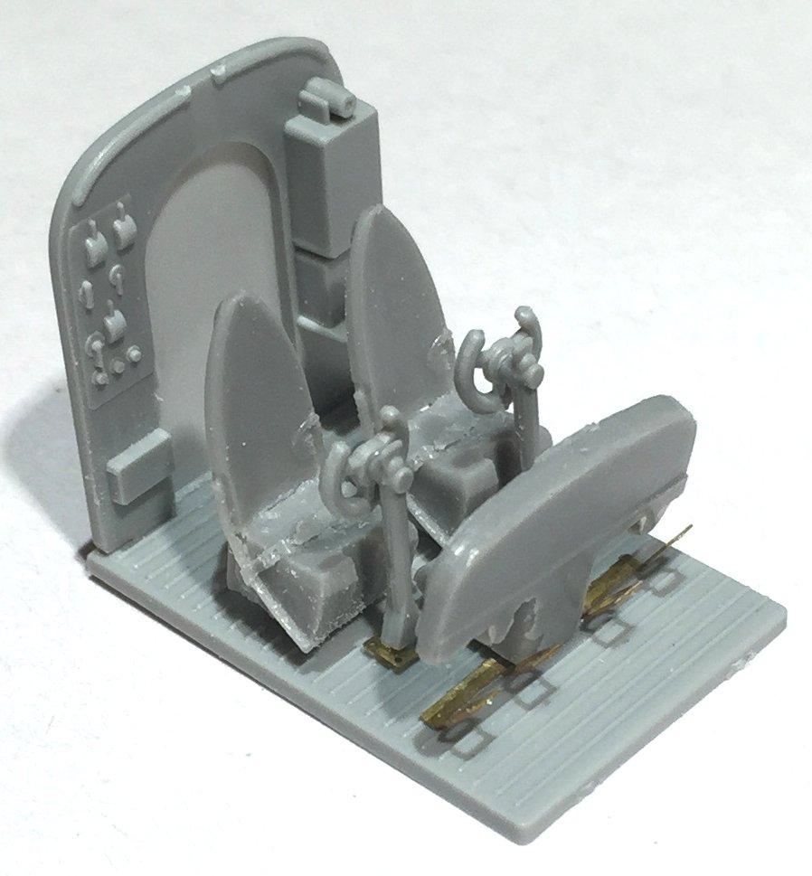 Miglioramenti in fotoincisione della cabina di pilotaggio