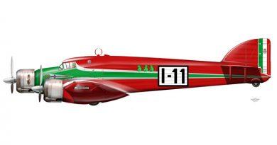 Savoia Marchetti S.79C - I-CUPI pilotato da Cupini e Paradisi