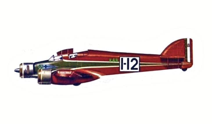 Savoia Marchetti S.79C - I-ROTR pilotato da Rovis e Trimboli