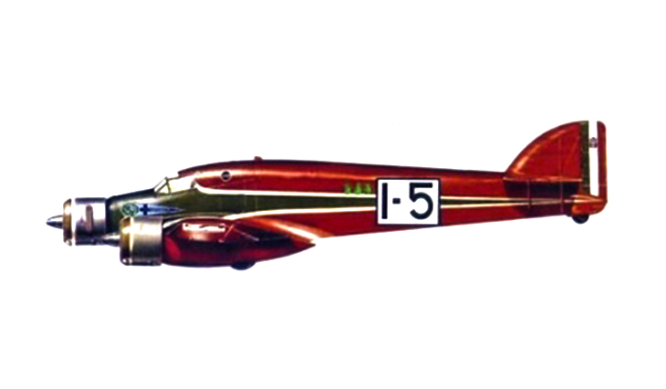 Savoia Marchetti S.79C - I-BIMU pilotato da Biseo e Mussolini