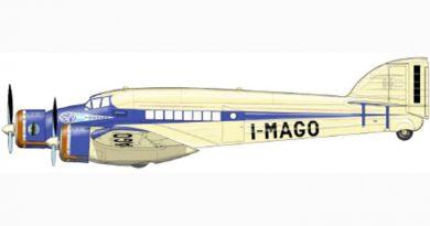 Savoia Marchetti S.79P - Prototipo - I-MAGO - Motori Alfa Romeo AR.125 RC.35 da 750 cv.