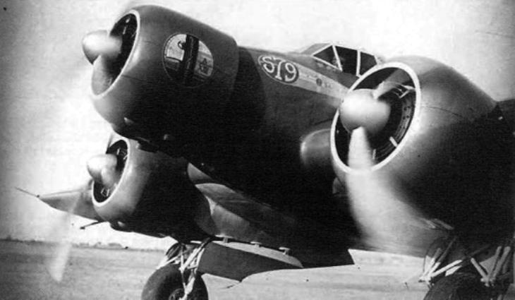Il Savoia Marchetti S.79 I-MAGO con motori Alfa Romeo AR.125 RC.35