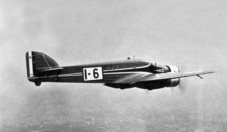 Savoia Marchetti S.79C - I-TOMO pilotato da Tondi e Moscatelli