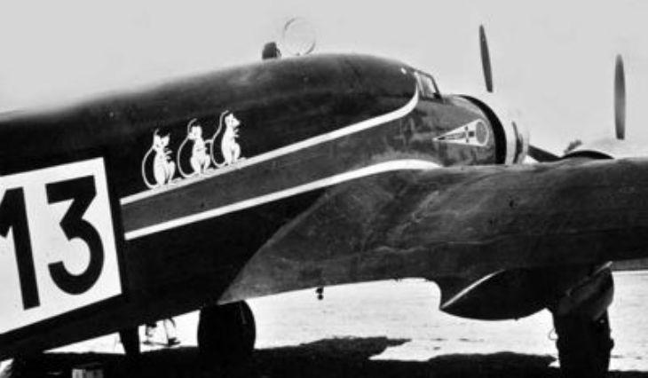 Savoia Marchetti S.79C - I-FILU pilotato da Fiori e Luchini
