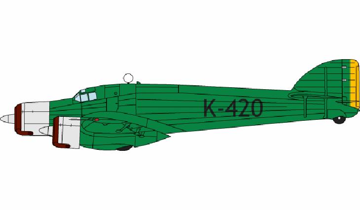 """Savoia Marchetti S.79T acquistato dall'aviazione brasiliana al termine del raid dei """"Sorci Verdi"""" Italia-Brasile"""