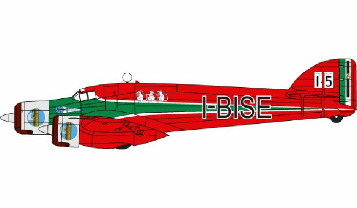 Savoia Marchetti S.79 - I-BISE
