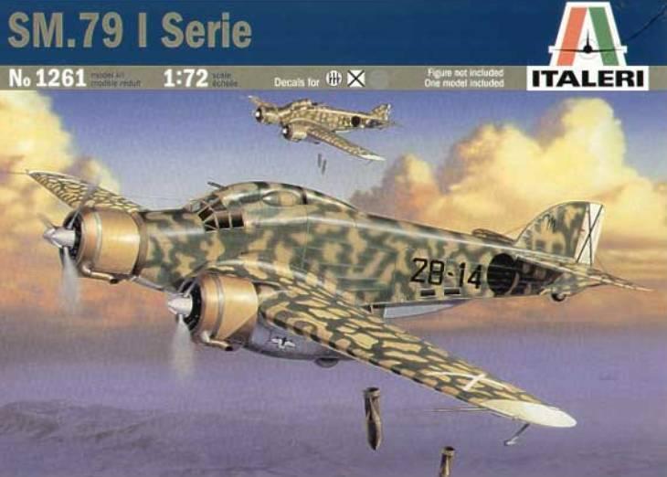 Italeri - S.M.79 - I Serie - 1/72 - N° 1261