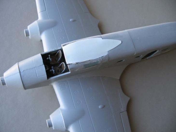 4 - Conversione Savoia Marchetti SM79 Ala Littoria - Realizzazione del tetto della Cabina di pilotaggio