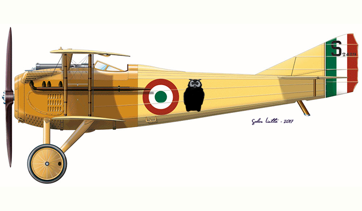 SPAD S.VII - Ferruccio Ranza