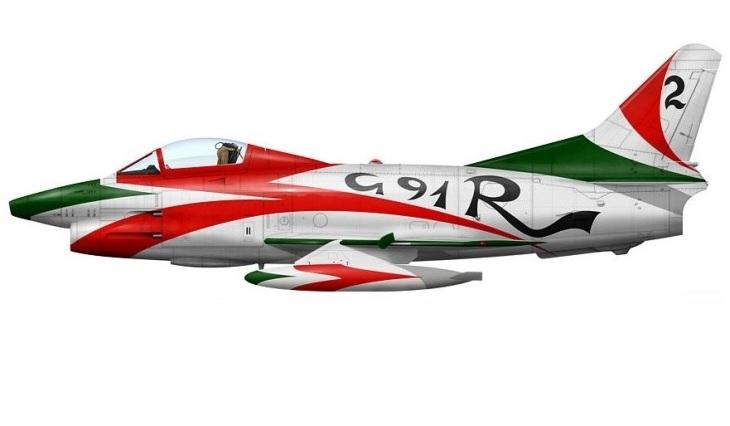 1 - Fiat G.91R - 2° Stormo - 14° Gruppo - Ultimo Volo - 9 Aprile 1992 - Treviso S. Angelo