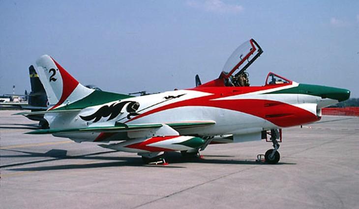 8 - Fiat G.91R - 2° Stormo - 14° Gruppo - Ultimo Volo - 9 Aprile 1992 - Treviso S. Angelo
