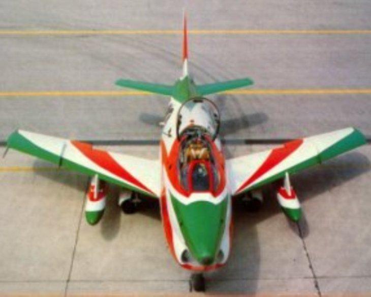 10 - Fiat G.91R - 2° Stormo - 14° Gruppo - Ultimo Volo - 9 Aprile 1992 - Treviso S. Angelo