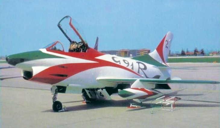 11 - Fiat G.91R - 2° Stormo - 14° Gruppo - Ultimo Volo - 9 Aprile 1992 - Treviso S. Angelo