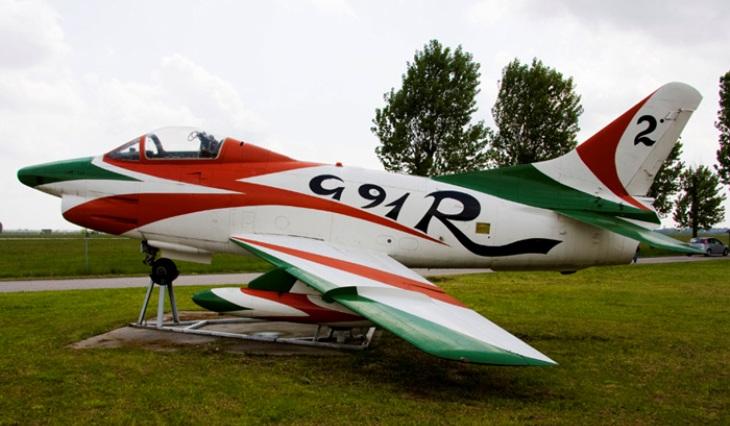 12 - Fiat G.91R - 2° Stormo - 14° Gruppo - Ultimo Volo - Monumento - Rivolto