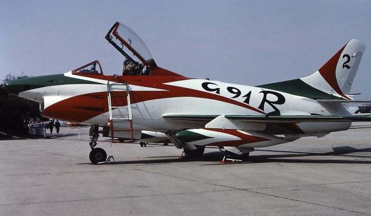 3 - Fiat G.91R - 2° Stormo - 14° Gruppo - Ultimo Volo - 9 Aprile 1992 - Treviso S. Angelo