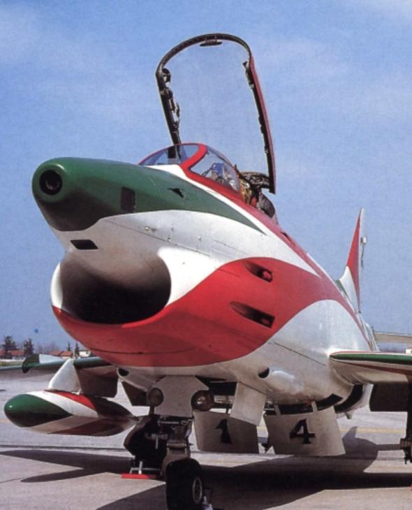 4 - Fiat G.91R - 2° Stormo - 14° Gruppo - Ultimo Volo - 9 Aprile 1992 - Treviso S. Angelo