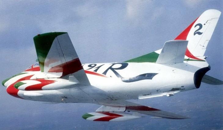 5 - Fiat G.91R - 2° Stormo - 14° Gruppo - Ultimo Volo - 9 Aprile 1992 - Treviso S. Angelo