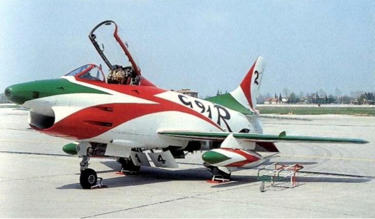 6 - Fiat G.91R - 2° Stormo - 14° Gruppo - Ultimo Volo - 9 Aprile 1992 - Treviso S. Angelo