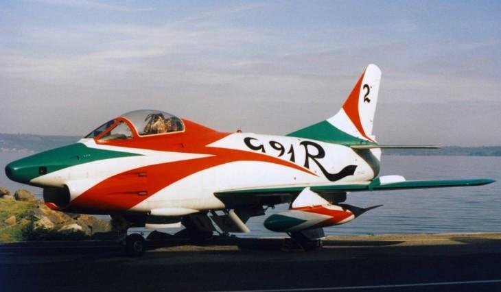 7 - Fiat G.91R - 2° Stormo - 14° Gruppo - Ultimo Volo - 9 Aprile 1992 - Treviso S. Angelo