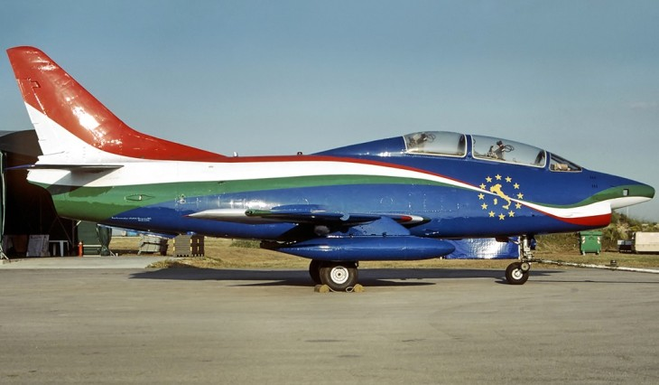 2 - Fiat G91T - 60^ Brigata Aerea - 204° Gruppo - Allargamento dell'Unione a 12 - 31° anno attività del G.91 - Messa in posizione quadro del gruppo e radiazione del velivolo - settembre 1995 - Amendola
