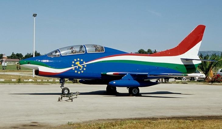 3 - Fiat G91T - 60^ Brigata Aerea - 204° Gruppo - Allargamento dell'Unione a 12 - 31° anno attività del G.91 - Messa in posizione quadro del gruppo e radiazione del velivolo - settembre 1995 - Amendola