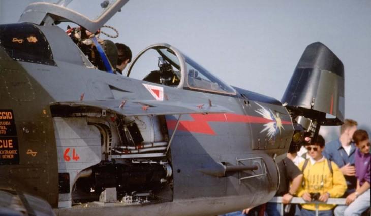 4 - Fiat G91Y - 8° Stormo - 101° Gruppo - 5000 ore di volo del Mag. L. Castelletti - Luglio 1989
